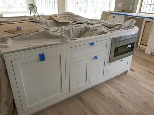 microwave drawer installed incorrectly