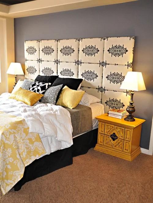 Bedroom Ravishing Black And White Master Deco Ideas