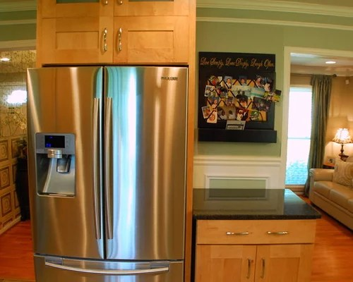 Stand Alone Refrigerator Home Design Ideas Pictures