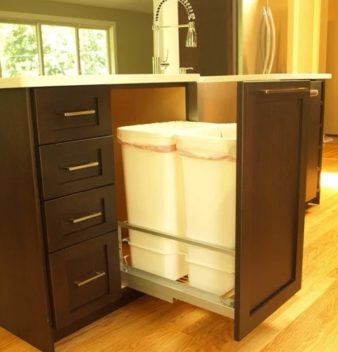 Ikea Trash Pullout Home Design Ideas Pictures Remodel