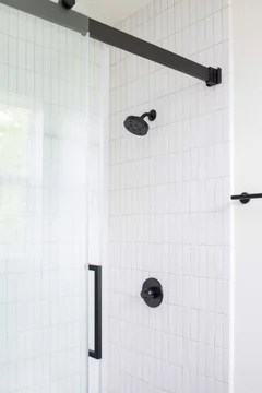 white pvc schluter for our tile