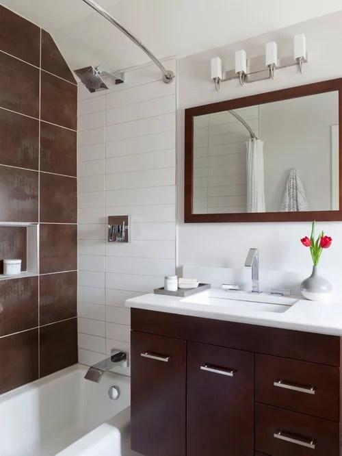 Small Modern Bathroom | Houzz