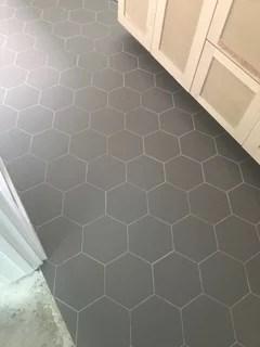 hardwood or tile in open concept kitchen