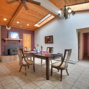 75 Most Popular Southwestern Dining Room With A Brick