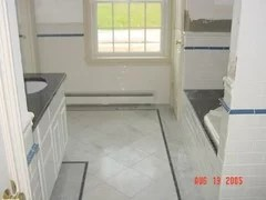 subway tile chair rail how to