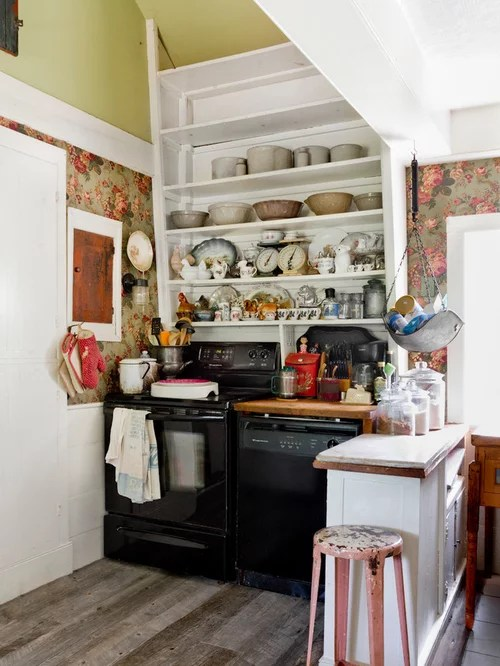 Small Shabby Chic Style Kitchen Design Ideas Amp Remodel