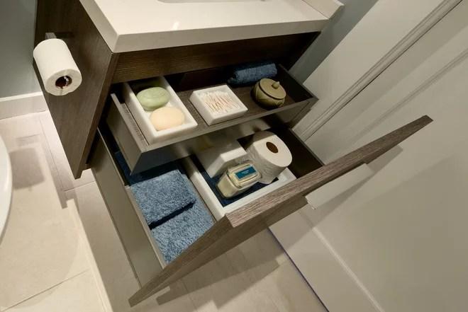 Contemporary Bathroom by De Meza + Architecture