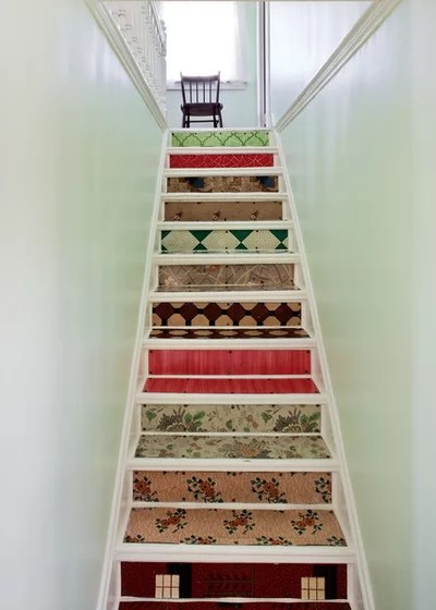 16 Ideen, wie Sie Treppen streichen und Treppenstufen dekorieren