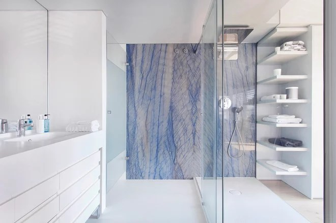 Contemporary Bathroom by Lilya Koshcheeva / Honestly Designed
