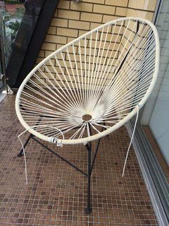 ideas to restring an acapulco chair