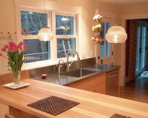 Mixed Countertop Materials Ideas, Pictures, Remodel And Decor