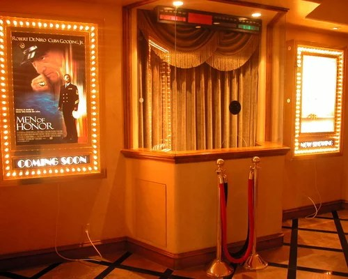 Home Theater Ticket Booth Design