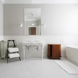 Ретро Ванная комната by A+B KASHA Designs