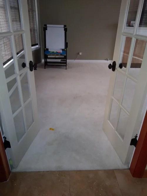 replacing carpet with hardwood but next
