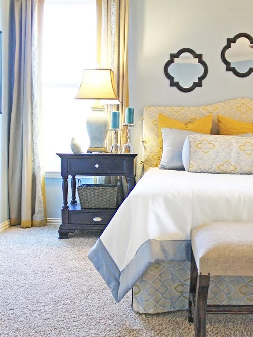 Blue And Yellow Bedroom Home Design Ideas Pictures