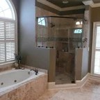 French Country Traditional Bathroom Charlotte By Walker Woodworking