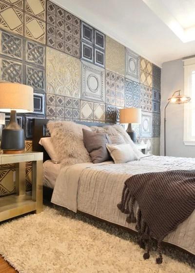 Eclectic Bedroom Industrial Bedroom