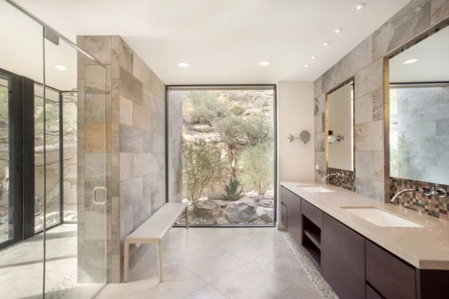 Contemporary Bathroom by Milestone Homes