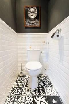 carrelage mural toilette