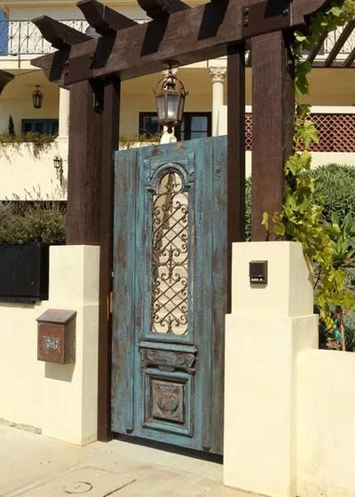 Mediterranean Entry by Custom Design & Construction