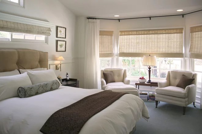 Transitional Bedroom by Talianko Design Group, LLC