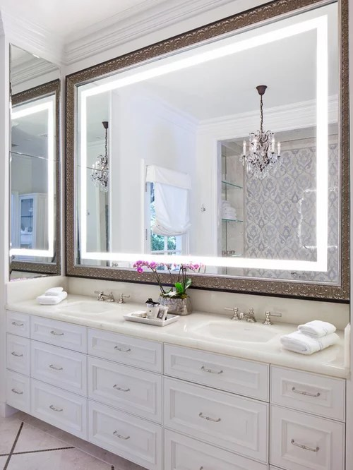 Large Bathroom Mirror Home Design Ideas Pictures Remodel And Decor