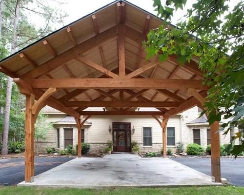 Timber Carport Kits Houzz