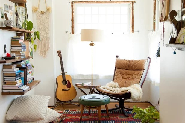 Eclectic Bedroom by A Darling Felicity Photography