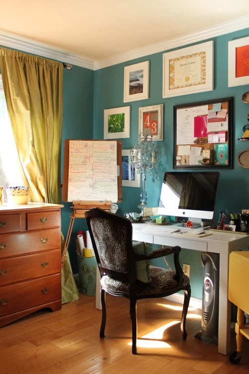 What Is Brand Name And Color Of Teal Wall Paint I Love It