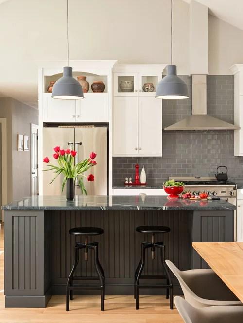 Grey Backsplash Home Design Ideas Pictures Remodel And Decor