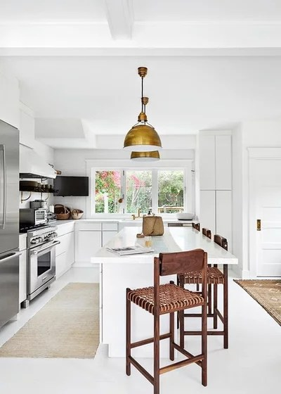Beach Style Kitchen by LETTER FOUR, INC.