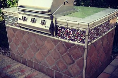 mexican tile and stone project photos