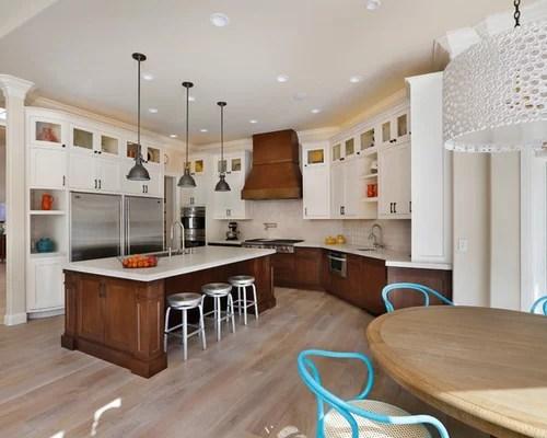Dark Lower White Upper Cabinets Home Design Ideas