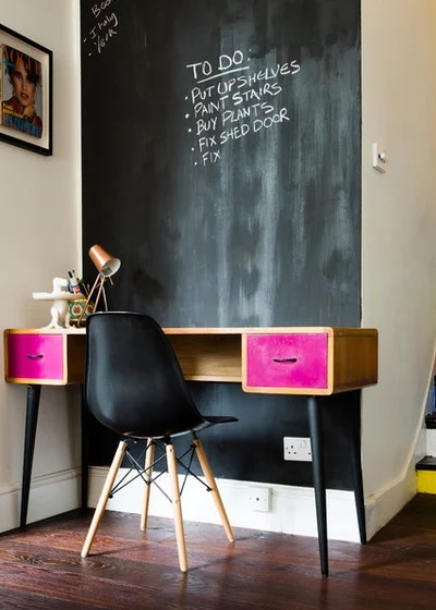 Eclectic Home Office by Ian Pierce
