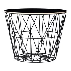 wire baskets houzz