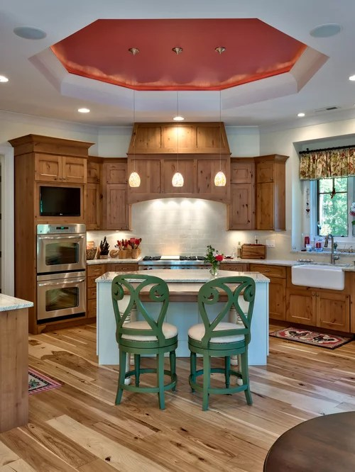 Knotty Alder Cabinets Pictures Houzz