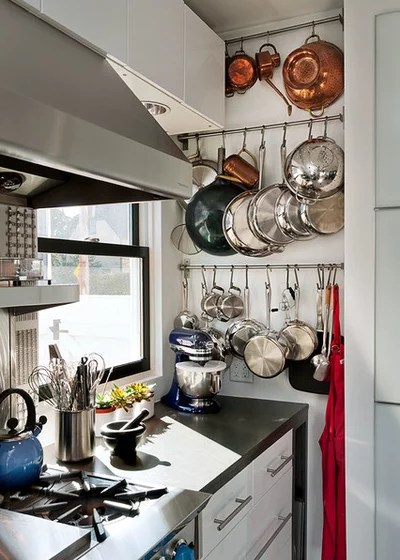 Contemporary Kitchen by Patty Kennedy Interiors, LLC