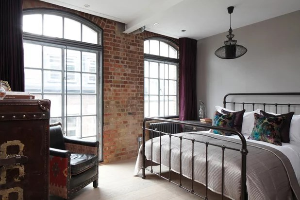 Loft Style Bedroom Decor Novocom Top