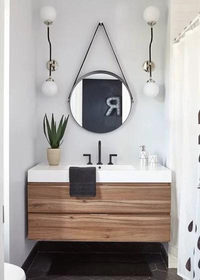 Transitional Bathroom by FOHR DESIGN STUDIO