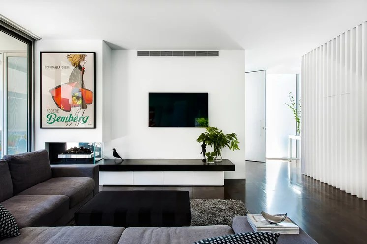 Modern Living Room by schulberg demkiw architects