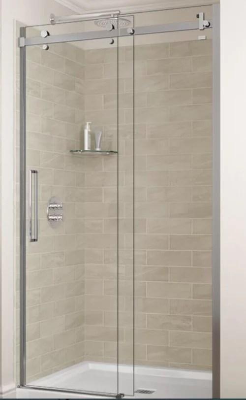bathroom remodel saving existing almond