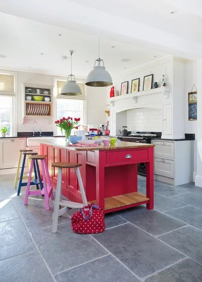 Transitional Kitchen by Traditional Bespoke Furniture