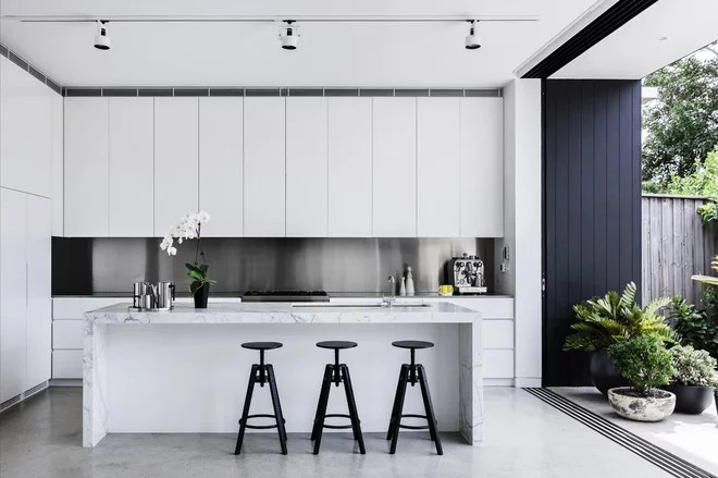 Contemporary Kitchen by Hancock Architects