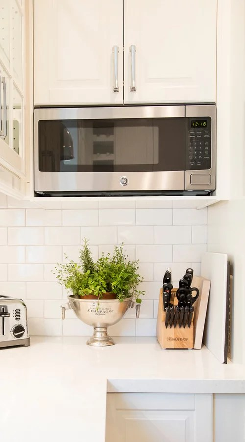 microwave niche for ikea cabinets