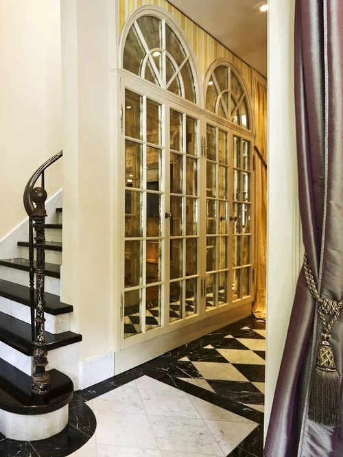 Narrow French Doors Interior