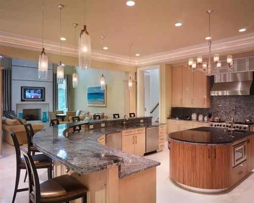 Contemporary Galley Kitchen Designs