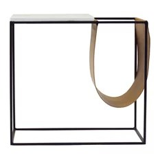 end tables with a magazine holder