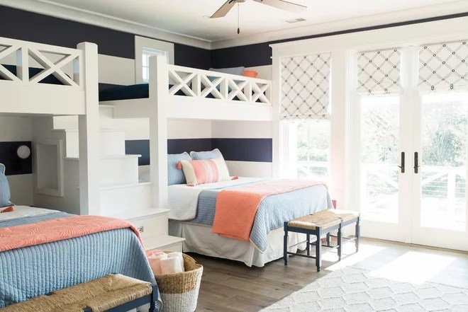 Beach Style Bedroom by SLC Architect LLC
