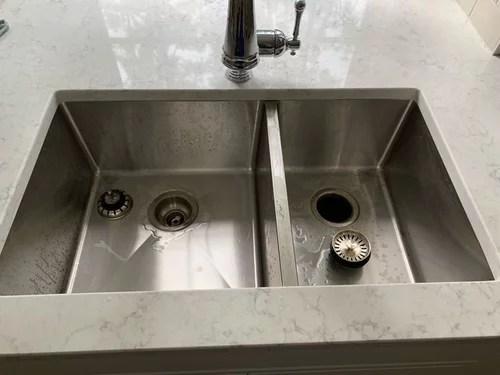 60 40 sink for garbage disposal