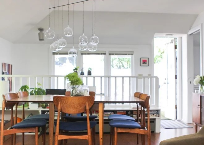 Eclectic Dining Room by Caela McKeever